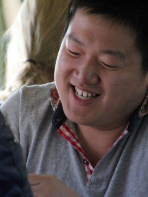 Photograph of happy man