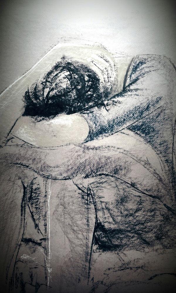 Drawing of human emotion