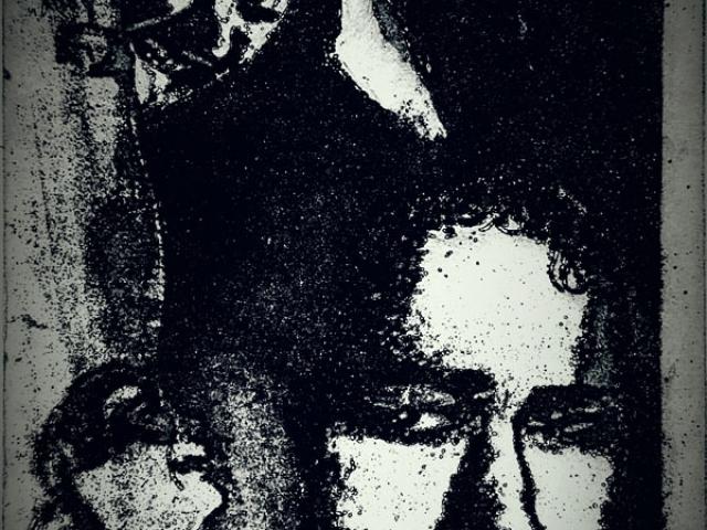 Print of people