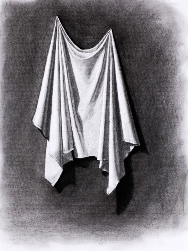 Drawing of cloth
